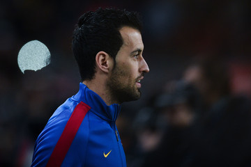 Sergio Busquets Barcelona v Athletic Club - Copa del Rey: Round of 16 Second Leg