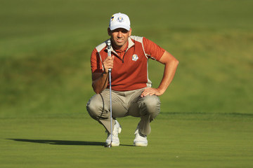 Sergio Garcia 2018 Ryder Cup - Afternoon Foursome Matches