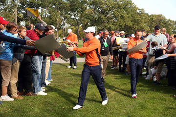Sergio Garcia Rory McIlroy Ryder Cup - Preview Day 2