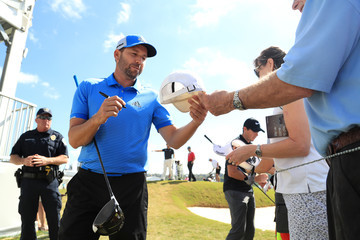 Sergio Garcia World Golf Championships-Dell Match Play - Preview Day 2