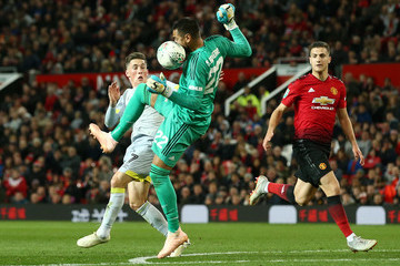 Sergio Romero Manchester United v Derby County - Carabao Cup Third Round