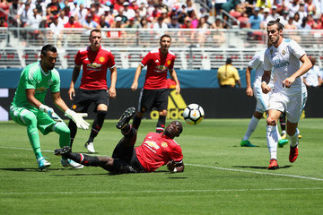 Sergio Romero International Champions Cup 2017 - Real Madrid v Manchester United