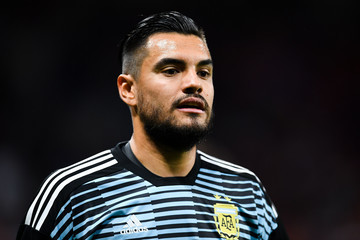 Sergio Romero Spain Vs. Argentina - International Friendly