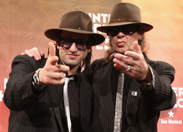 Serkan Kaya and Udo Lindenberg. Photo by Andreas Rentz/Getty Images Europe.