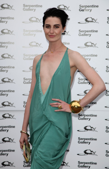 Erin O'Connor attends the Serpentine Gallery Summer Party at the Serpentine Gallery on July 9, 2009 in London, England.