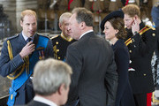Prince William, Duke of Cambridge, Prince Andrew, Duke of York, Catherine, Duchess of Cambridge and Prince Harry attend a Service of Commemoration for troops who were stationed in Afghanistan at St Paul's Cathedral on March 13, 2015 in London, England.