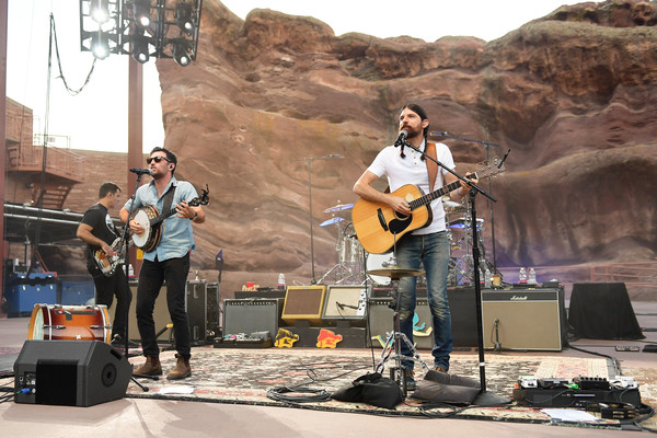 The Avett Brothers Perform At Red Rocks Amphitheatre