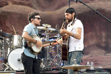 Seth Avett The Avett Brothers Perform At Red Rocks Amphitheatre