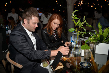 Seth Gabel Samsung Celebrates The New Galaxy S6 edge+ And Galaxy Note5 in Los Angeles