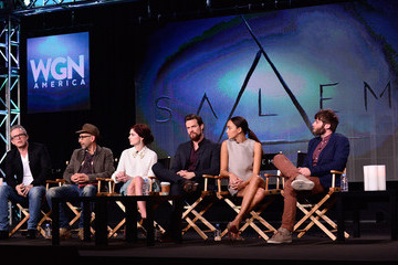 "Seth Gabel WGN America Presents ""SALEM"" At The TCA Winter 2014 Press Tour"