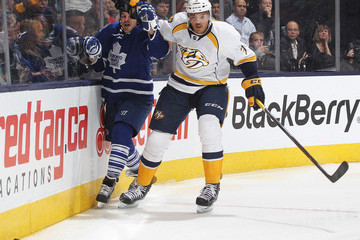 Seth Jones Nashville Predators v Toronto Maple Leafs
