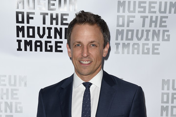 Seth Meyers Museum of the Moving Image Honors Netflix Chief Content Officer Ted Sarandos And Seth Meyers - Arrivals