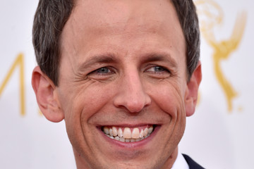 Seth Meyers Arrivals at the 66th Annual Primetime Emmy Awards — Part 2
