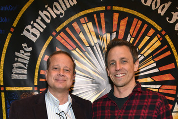 Seth Meyers Michael Shoemaker 'Mike Birbiglia: Thank God For Jokes' Opening Night
