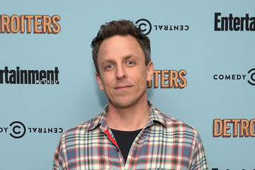 Seth Meyers Comedy Central & Entertainment Weekly Host An Exclusive Screening Of 'Detroiters' Starring Sam Richardson And Tim Robinson At Time Inc. Studios In NYC