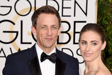 Seth Meyers Arrivals at the Golden Globe Awards — Part 2