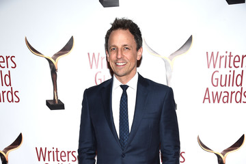 Seth Meyers 69th Writers Guild Awards New York Ceremony - Arrivals