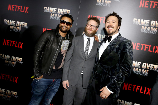 The Premiere Of Netflix Film 'Game Over, Man!' At The Regency Village Westwood In Los Angeles