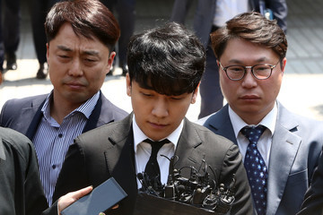 Seungri Seungri of BIGBANG Appears At Seoul Central District Court