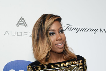 Sevyn Streeter Warner Music Group's Celebration For The 58th Annual Grammy Awards - Arrivals