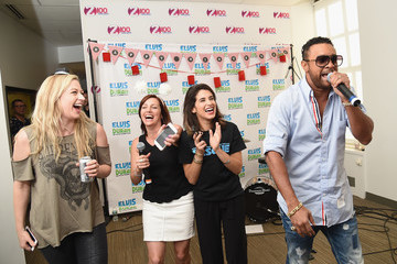 Shaggy 'The Elvis Duran Z100 Morning Show' Celebrates Elvis Duran's Birthday