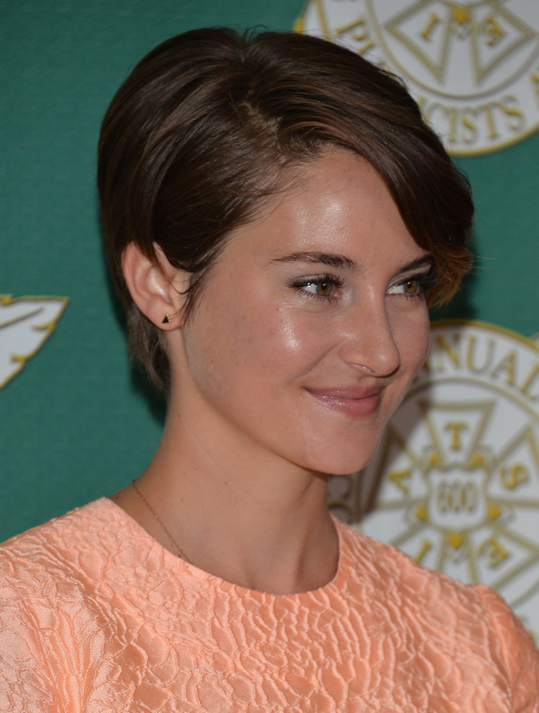 shailene woodley 2014 short brown hairstyle pictures hair