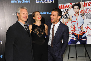 Shailene Woodley Theo James 'Divergent' Screening in NYC
