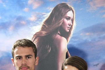 Shailene Woodley Theo James 'Divergent' Photo Call in Madrid