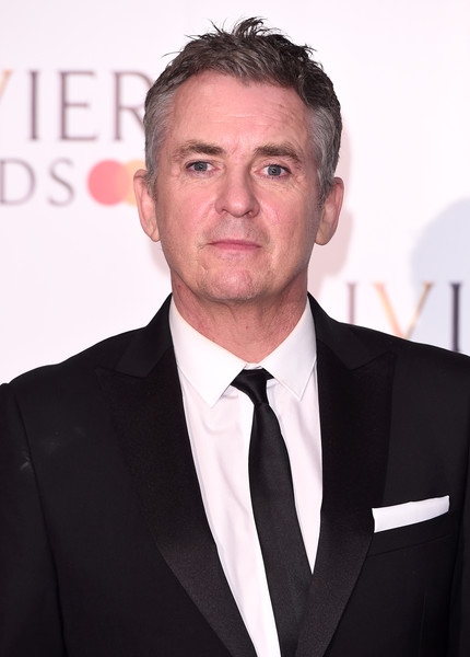 The Olivier Awards 2019 With MasterCard - Press Room [suit,white-collar worker,forehead,tuxedo,premiere,formal wear,official,businessperson,event,shane richie,olivier awards,mastercard - press room,london,england,royal albert hall,mastercard,the olivier awards]