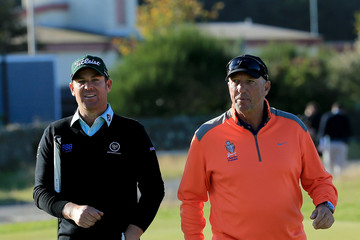 Shane Warne Alfred Dunhill Links Championship: Practice
