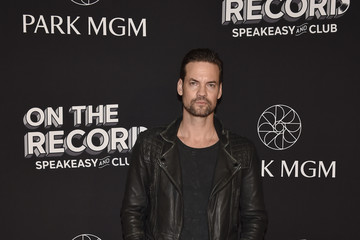 Shane West On The Record Speakeasy And Club Red Carpet Grand Opening Celebration At Park MGM