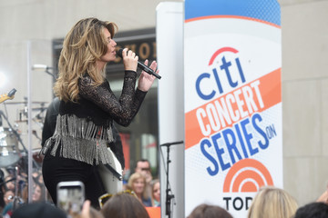 Shania Twain Citi Concert Series on TODAY Presents Shania Twain