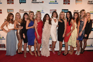 Shannon Beador Premiere Party For Bravo's 'The Real Housewives Of Orange County' 10 Year Celebration - Red Carpet
