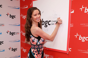 Shannon Elizabeth Annual Charity Day Hosted By Cantor Fitzgerald, BGC, And GFI - BGC Office - Arrivals