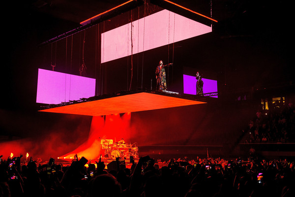 Thirty Seconds To Mars Performs At The Forum