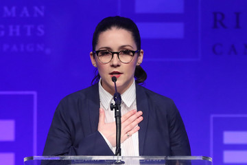 Shannon Woodward Human Rights Campaign's 2017 Los Angeles Gala Dinner - Show