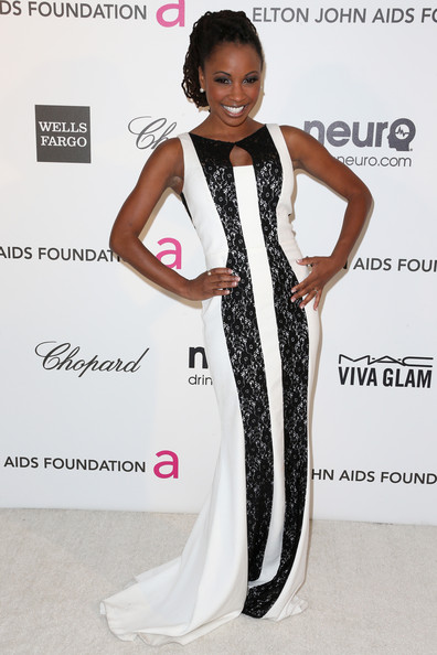 Shanola Hampton - 21st Annual Elton John AIDS Foundation's Oscar Viewing Party - Arrivals