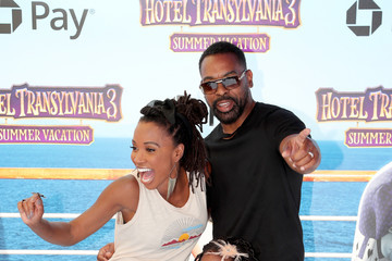 Shanola Hampton Columbia Pictures And Sony Pictures Animation's World Premiere Of 'Hotel Transylvania 3: Summer Vacation' - Arrivals