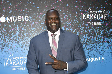 Shaquille O'Neal 'Carpool Karaoke: The Series' On Apple Music Launch Party - Arrivals