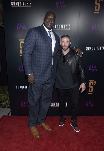Grand Opening Of Shaquille's At L.A. Live