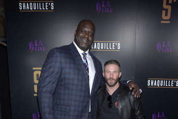 Shaquille O'Neal Grand Opening Of Shaquille's At L.A. Live