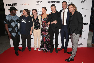 Sharlto Copley Babou Ceesay Bulleit Bourbon Presents the 'Free Fire' Premiere Screening Party at Early Mercy in Toronto