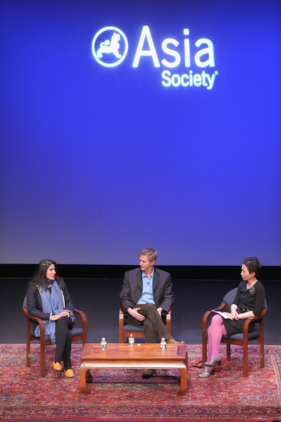"HBO's Documentary Screening Of The Oscar Winning Film ""Saving Face"" [saving face,documentary screening of the oscar winning film ``saving face,film,sky,event,performance,la frances hui,filmmakers,assistant director,part,hbo,asia society cultural programs,q a]"