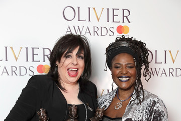 Sharon D. Clarke The Olivier Awards With Mastercard - Press Room