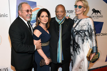 Sharon Stone Keep Memory Alive's 19th Annual 'Power of Love' Gala Honors Andrea & Veronica Bocelli - Red Carpet