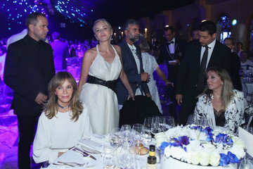 Sharon Stone 2017 Celebrity Fight Night in Italy