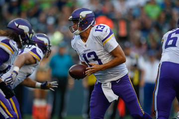 Shaun Hill Minnesota Vikings v Seattle Seahawks