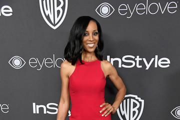 Shaun Robinson Warner Bros. Pictures and InStyle Host 18th Annual Post-Golden Globes Party - Arrivals
