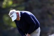 Colin Montgomerie of Scotland putts on the 3rd green during the first round of the Shaw Charity Classic at the Canyon Meadows Golf and Country Club on August 31, 2018 in Calgary, Canada.