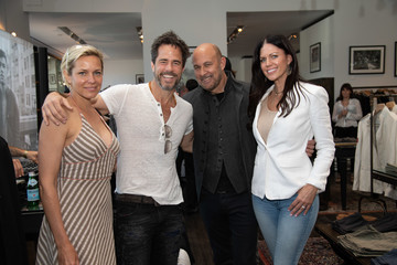 Shawn Christian Krista Weissmuller John Varvatos West Hollywood Personal Appearance